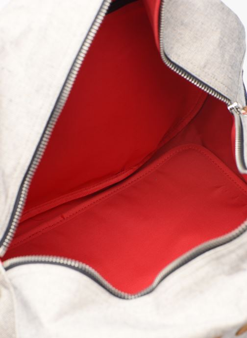 Reisegepäck Faguo Bag48 Cotton grau ansicht von hinten