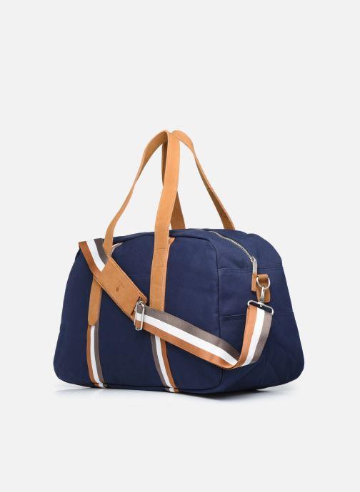 Bagages Faguo Bag48 Cotton Bleu vue droite