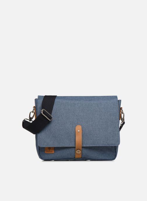 Handtassen Faguo Messenger Syn Wov Blauw detail