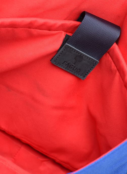 Handtassen Faguo Messenger Syn Wov Blauw achterkant