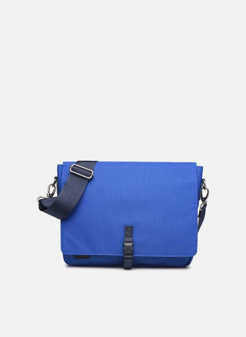 Petite Maroquinerie Faguo Messenger Syn Wov Bleu vue détail/paire