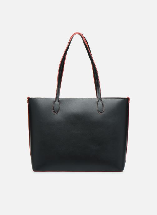 Handtaschen Love Moschino SHARE THE LOVE TOTE rot ansicht von vorne