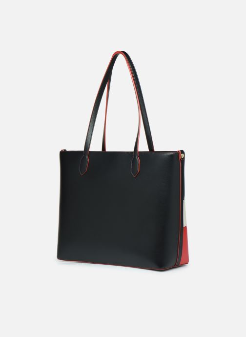 Handbags Love Moschino SHARE THE LOVE TOTE Red view from the right