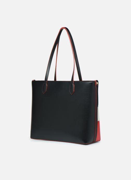 Handtaschen Love Moschino SHARE THE LOVE TOTE rot ansicht von rechts