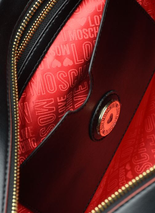 Handtassen Love Moschino SHARE THE LOVE TOTE Rood achterkant