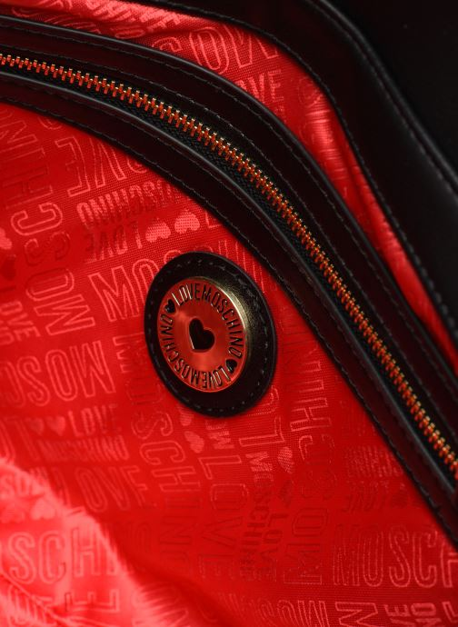 Handbags Love Moschino SHARE THE LOVE SATCHEL Red back view