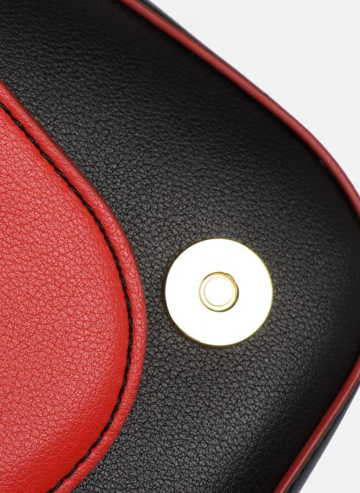 Bolsos de mano Love Moschino SHARE THE LOVE SATCHEL Rojo vista lateral izquierda