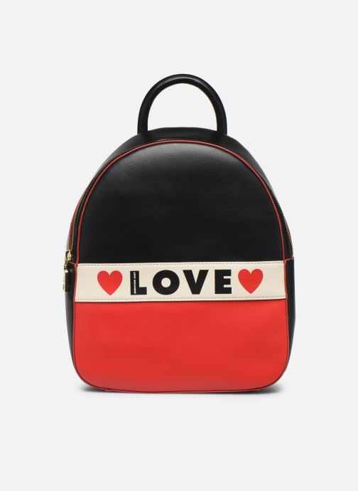 Rucksäcke Love Moschino SHARE THE LOVE BACKPACK blau detaillierte ansicht/modell