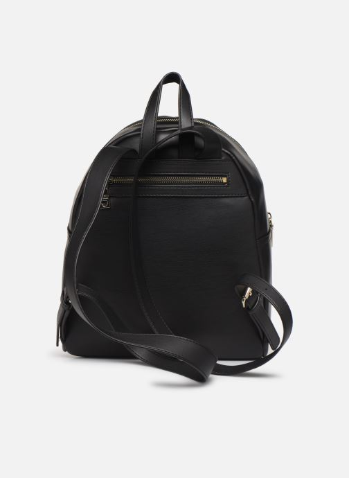 Sacs à dos Love Moschino LOVE IS ALLOVER BACKPACK Rouge vue face