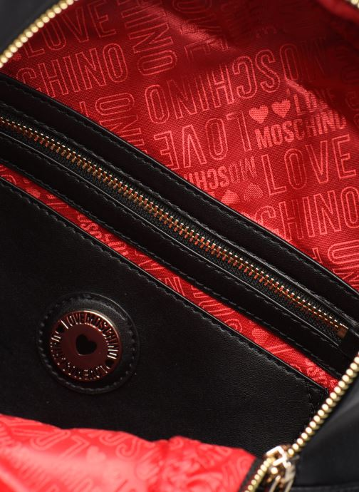 Sacs à dos Love Moschino LOVE IS ALLOVER BACKPACK Rouge vue derrière