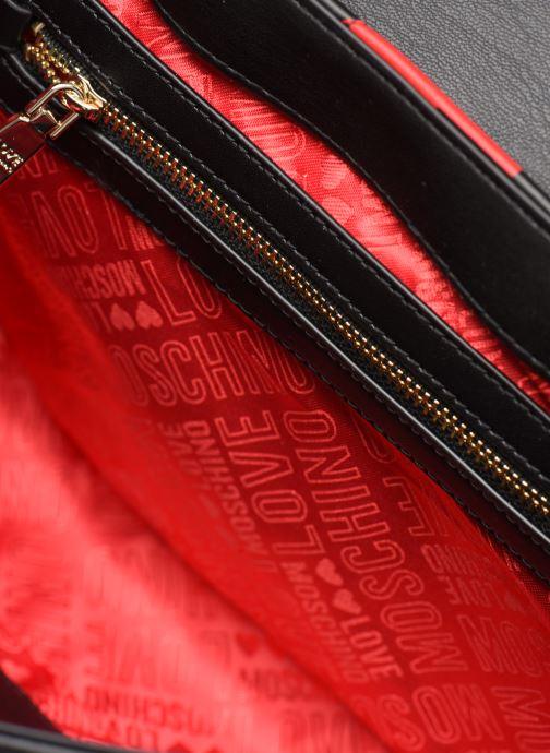 Sacs à main Love Moschino LOVE IS ALLOVER SATCHEL Rouge vue derrière