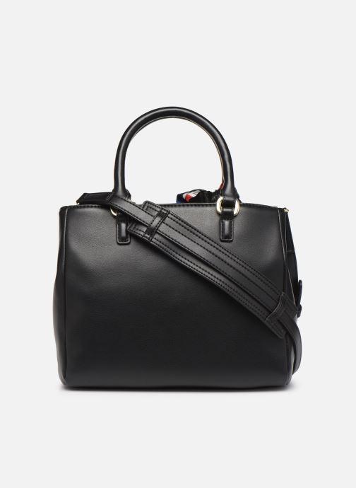 Handtaschen Love Moschino LETTERING LOVE MOSCHINO SACTHEL schwarz ansicht von vorne