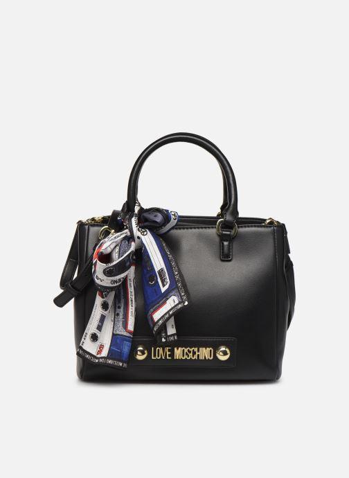 Handtaschen Love Moschino LETTERING LOVE MOSCHINO SACTHEL schwarz detaillierte ansicht/modell