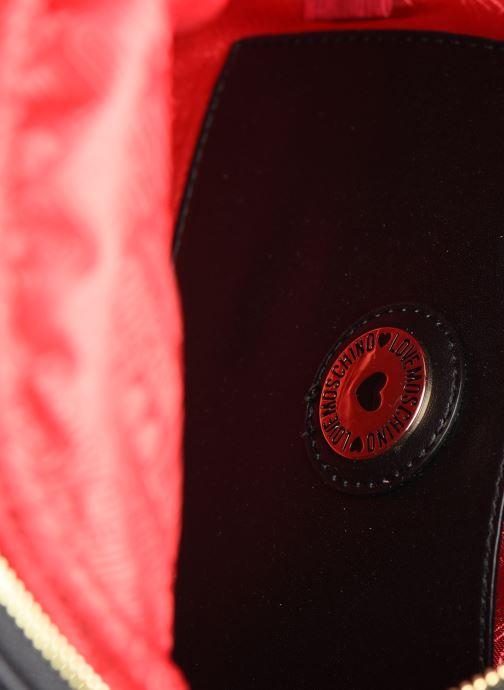 Sacs à dos Love Moschino STAY WARM BACKCPACK Noir vue derrière
