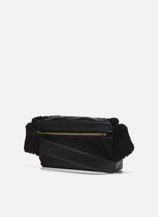Portemonnaies & Clutches Love Moschino STAY WARM BUMBAG schwarz ansicht von rechts