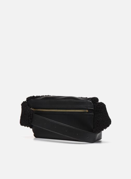Petite Maroquinerie Love Moschino STAY WARM BUMBAG Noir vue droite