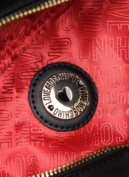 Petite Maroquinerie Love Moschino STAY WARM BUMBAG Noir vue derrière