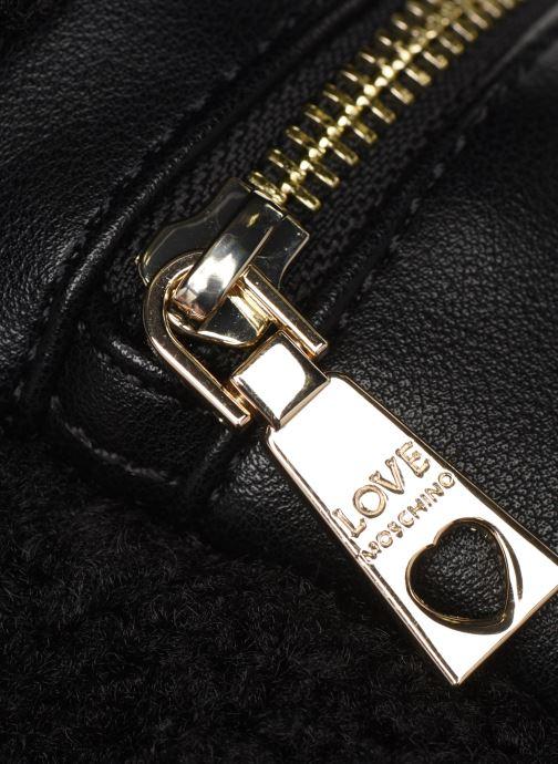Petite Maroquinerie Love Moschino STAY WARM BUMBAG Noir vue gauche