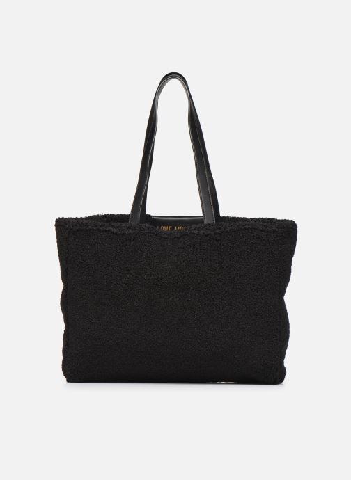 Handtaschen Love Moschino STAY WARM TOTE REVERSIBLE schwarz ansicht von vorne