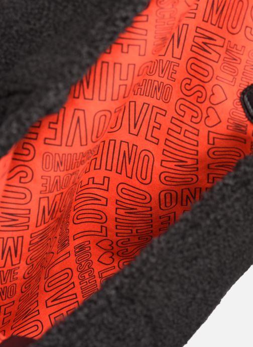 Handtassen Love Moschino STAY WARM TOTE REVERSIBLE Zwart achterkant