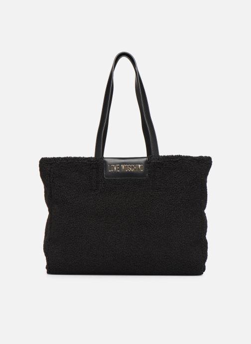 Handtaschen Love Moschino STAY WARM TOTE REVERSIBLE schwarz detaillierte ansicht/modell