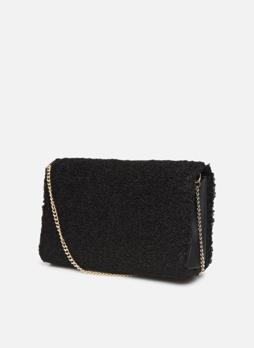 Bolsos de mano Love Moschino STAY WARM EVENING BAG Negro vista lateral derecha