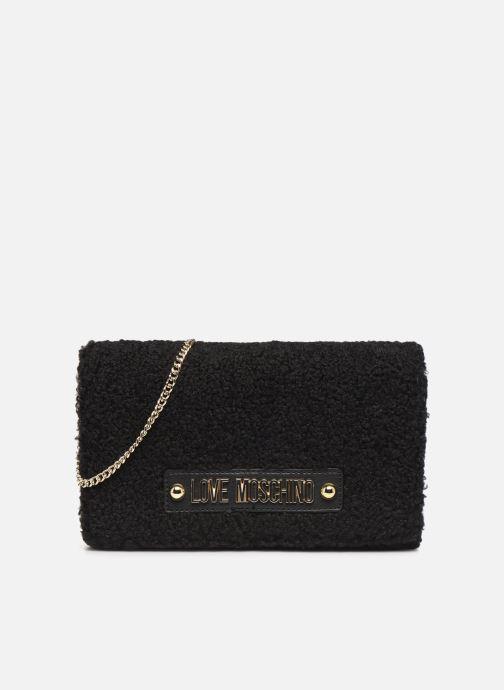 Handtassen Love Moschino STAY WARM EVENING BAG Zwart detail