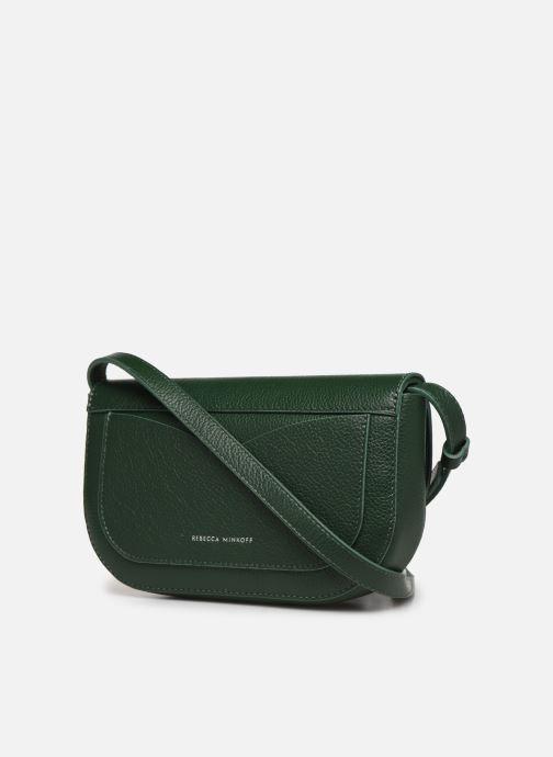 Handtassen Rebecca Minkoff NEW CROSSBODY PEBBLE Groen rechts