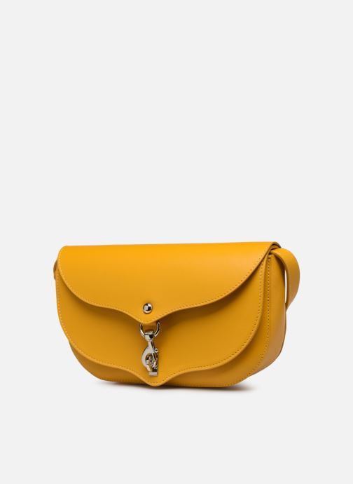 Bolsos de mano Rebecca Minkoff NEW CROSSBODY NAPPA Amarillo vista del modelo
