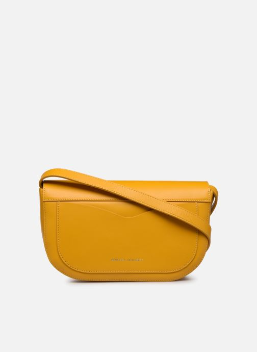 Bolsos de mano Rebecca Minkoff NEW CROSSBODY NAPPA Amarillo vista de frente