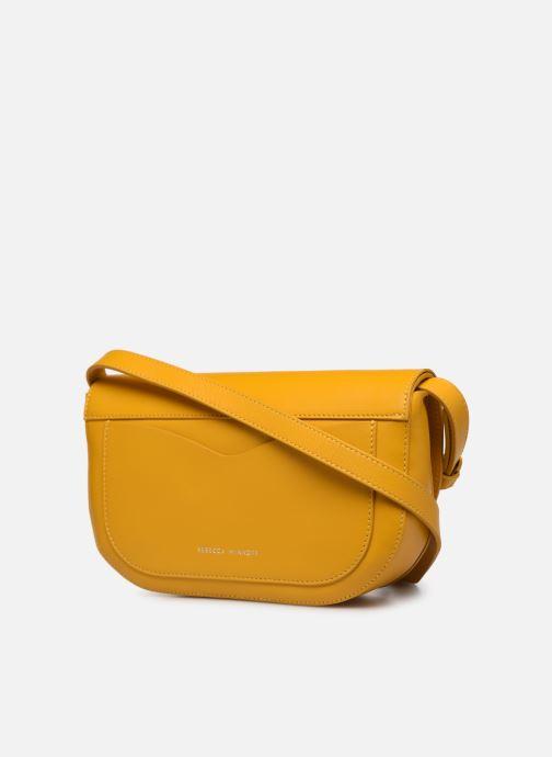 Bolsos de mano Rebecca Minkoff NEW CROSSBODY NAPPA Amarillo vista lateral derecha