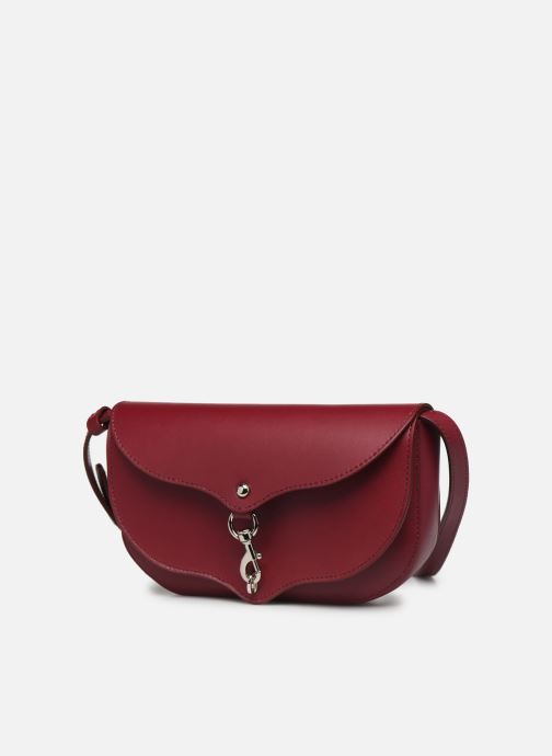 Handtaschen Rebecca Minkoff NEW CROSSBODY NAPPA weinrot schuhe getragen