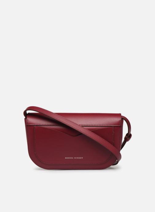 Handtaschen Rebecca Minkoff NEW CROSSBODY NAPPA weinrot ansicht von vorne
