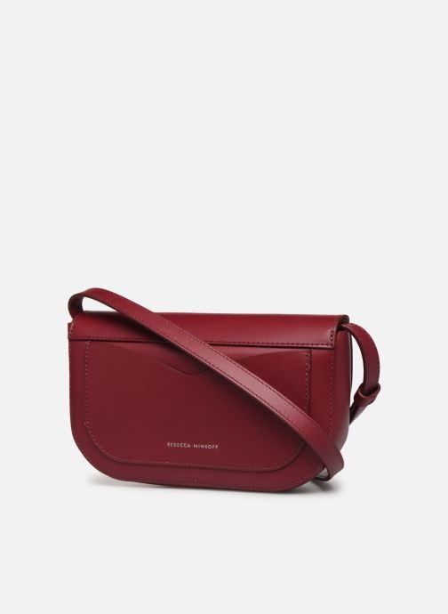 Handtaschen Rebecca Minkoff NEW CROSSBODY NAPPA weinrot ansicht von rechts