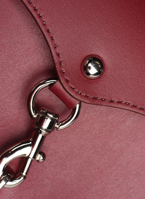Handtaschen Rebecca Minkoff NEW CROSSBODY NAPPA weinrot ansicht von links