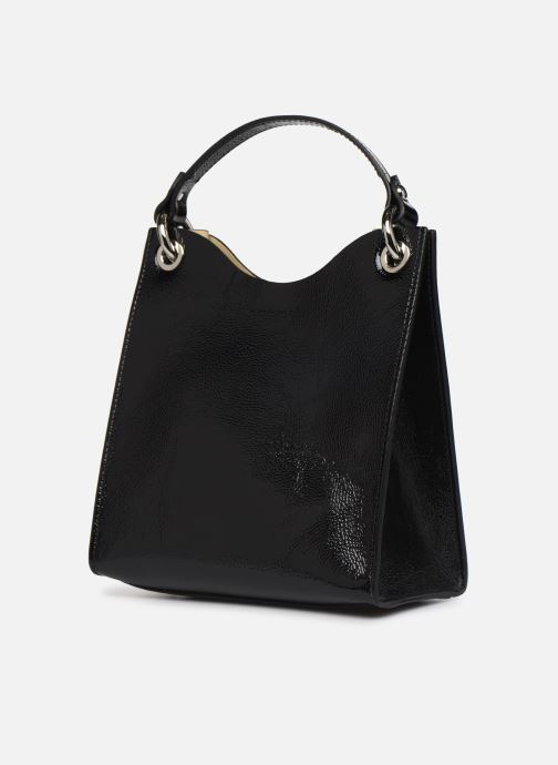 Handtaschen Rebecca Minkoff SMALL RING TOTE NAPLACK schwarz schuhe getragen