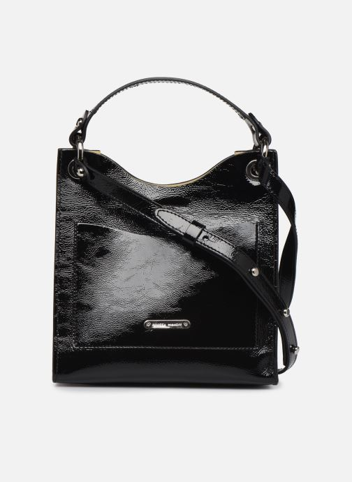 Sacs à main Rebecca Minkoff SMALL RING TOTE NAPLACK Noir vue face