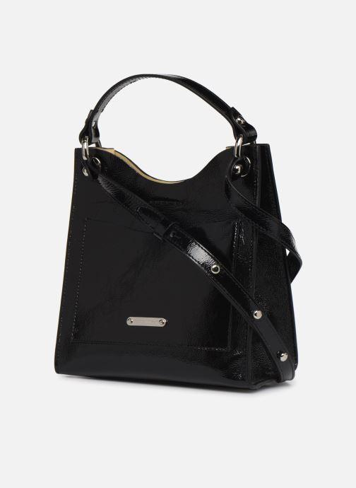 Handtaschen Rebecca Minkoff SMALL RING TOTE NAPLACK schwarz ansicht von rechts
