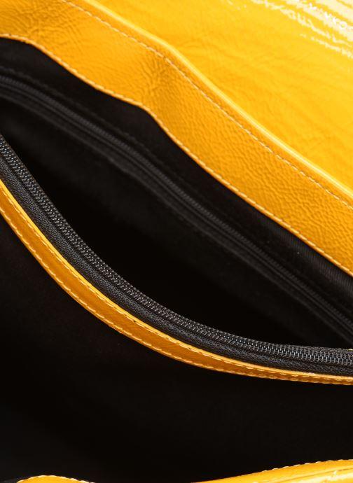 Borse Rebecca Minkoff EDIE FLAP SHOULDER BAG NAPLACK Giallo immagine posteriore