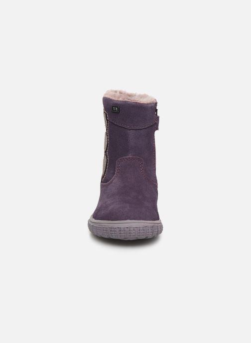 Bottes Lurchi by Salamander Jena-Tex Violet vue portées chaussures