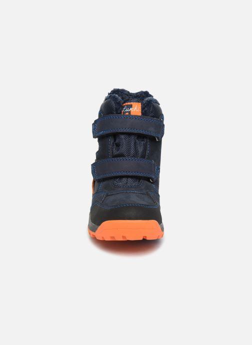 Chaussures de sport Lurchi by Salamander Tim-Tex Bleu vue portées chaussures