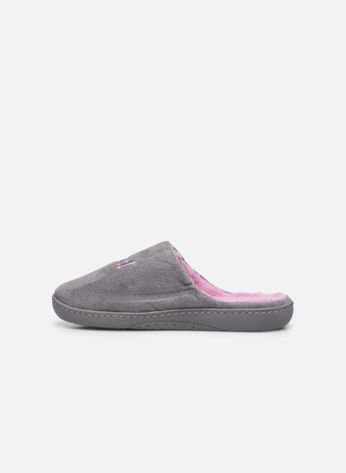 Slippers Isotoner Mule fille Grey front view