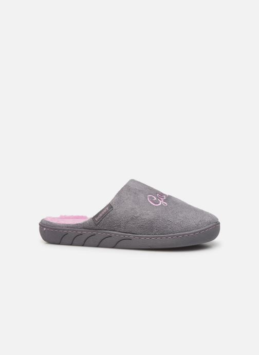 Slippers Isotoner Mule fille Grey back view