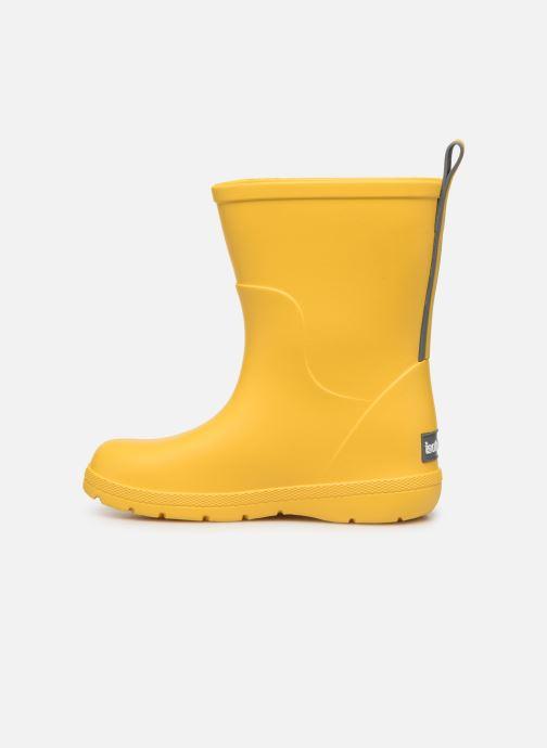 Stiefel Isotoner Botte de pluie Bébé gelb ansicht von vorne