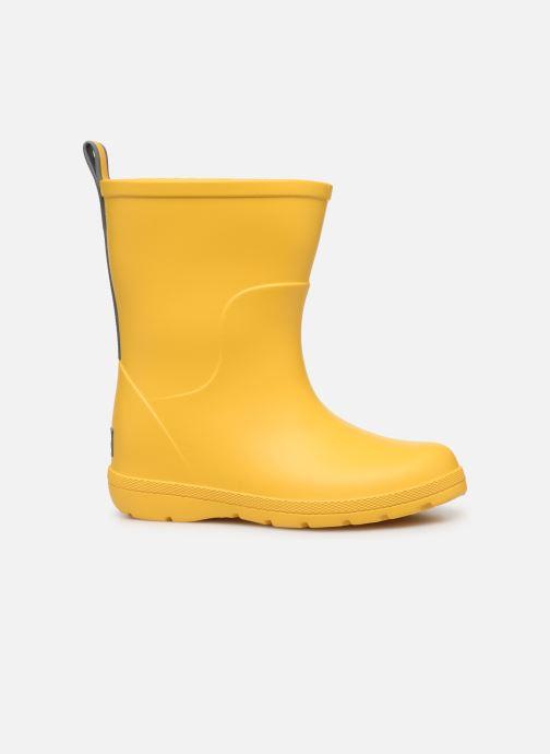 Boots & wellies Isotoner Botte de pluie Bébé Yellow back view