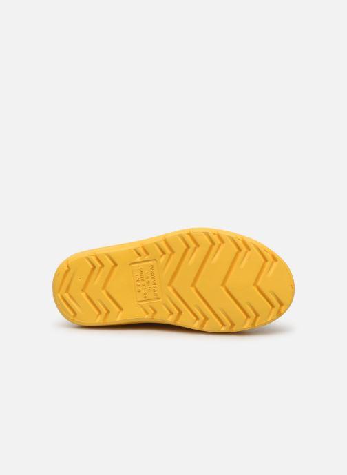 Stiefel Isotoner Botte de pluie Bébé gelb ansicht von oben