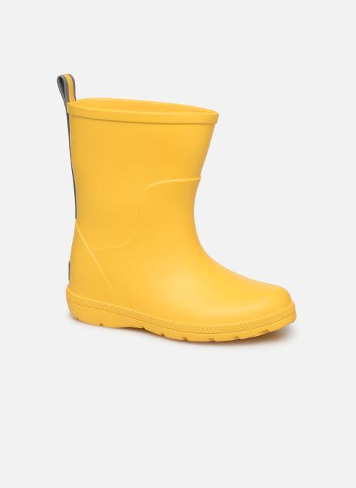 Boots & wellies Isotoner Botte de pluie Bébé Yellow detailed view/ Pair view