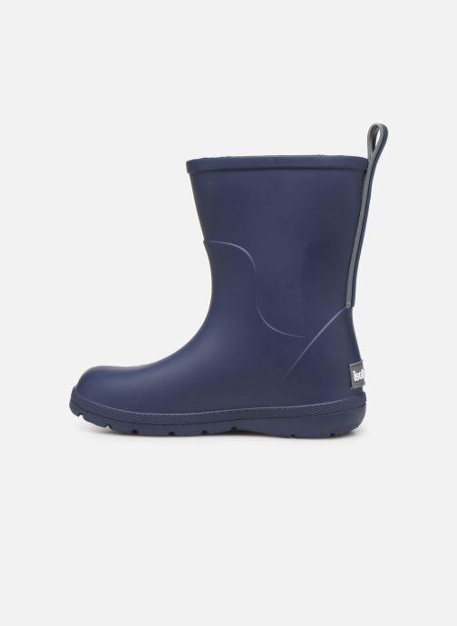 Stiefel Isotoner Botte de pluie Bébé blau ansicht von vorne