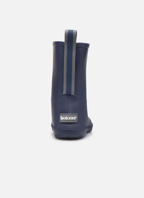 Stiefel Isotoner Botte de pluie Bébé blau ansicht von rechts