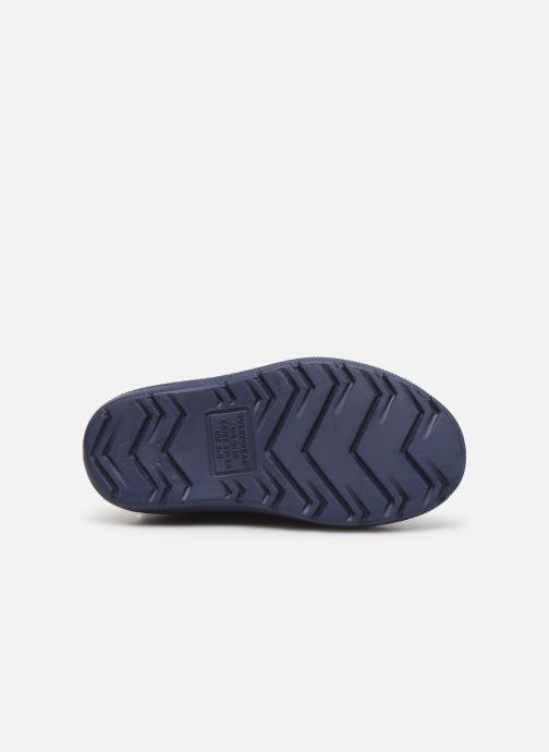 Stiefel Isotoner Botte de pluie Bébé blau ansicht von oben